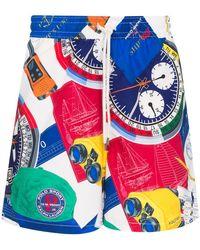 Polo Ralph Lauren グラフィック トランクス水着 - ブルー