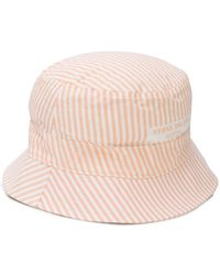 Stone Island - Striped Sun Hat - Lyst