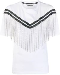 Each x Other ラインストーン Tシャツ - ホワイト