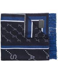 Stella McCartney - Monogram Blanket Scarf - Lyst