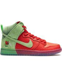 Nike - Sb Dunk High Strawberry Cough スニーカー - Lyst