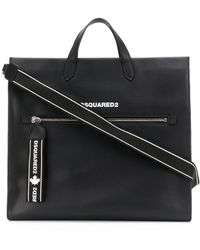 DSquared² Logo-print Tote - Black