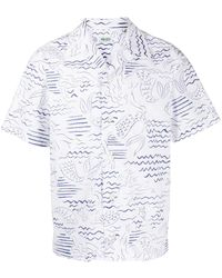KENZO Chemise à manches courtes Casual - Blanc