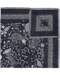 Valentino - Printed Scarf - Lyst