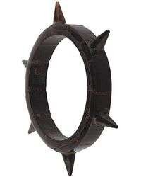 Parts Of 4 Horn Spike bangle - Nero