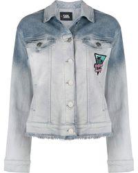 Karl Lagerfeld Джинсовая Куртка Karlifornia - Многоцветный