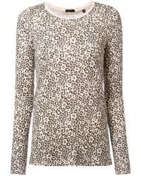 ATM - Leopard Print Jersey - Lyst