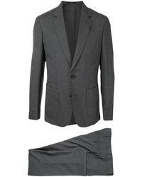 Paul Smith Костюм С Однобортным Пиджаком - Серый