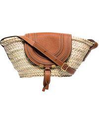 Chloé Small Marcie Basket Bag - Multicolour