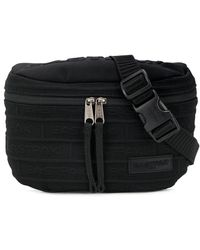 Eastpak Embossed Logo Patch Detail Belt Bag - Black