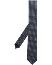 Dolce & Gabbana パターン ネクタイ - ブラック