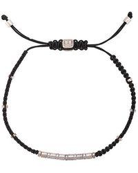 Tateossian - Macrame Bamboo Bead Bracelet - Lyst