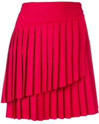 P.A.R.O.S.H. - Liliu Pleated Mini Skirt - Lyst