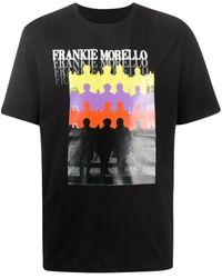 Frankie Morello - プリント Tシャツ - Lyst