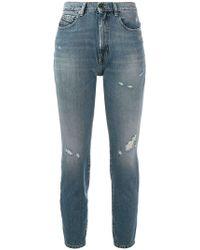 Diesel Black Gold - Cropped Skinny Jeans - Lyst