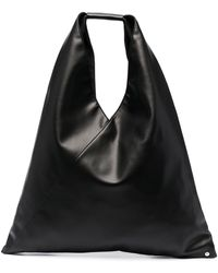 MM6 by Maison Martin Margiela Slouchy Top Handle Tote Bag - Black