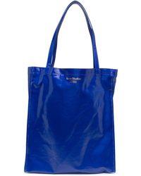 Acne Studios Большая Сумка-шопер С Логотипом - Синий