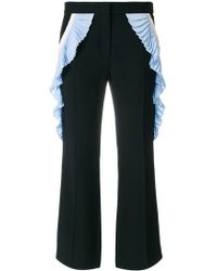 Marco De Vincenzo - Side Pleated Culottes - Lyst