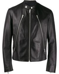 Maison Margiela ジップアップ ジャケット - ブラック