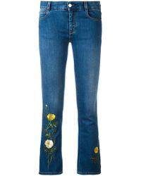 Stella McCartney - Nashville Skinny Kick Jeans - Lyst