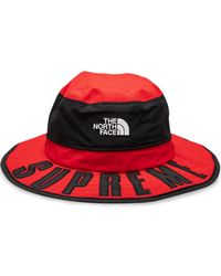 Supreme Cappello Horizon Breeze con logo curvo TNF - Rosso