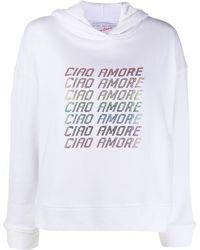 Giada Benincasa Ciao Amore パーカー - ホワイト