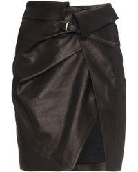 Isabel Marant Mini Wrap Skirt - Nero
