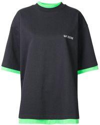 we11done リバーシブル Tシャツ - グレー