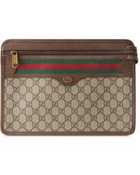Gucci - Клатч Ophidia GG - Lyst