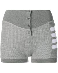 Thom Browne Compact Waffle Boxer Briefs - Gray