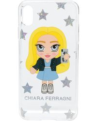 Chiara Ferragni Funda de iPhone XS @cfmascotte - Multicolor