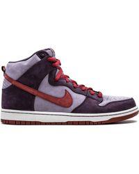 Nike Кроссовки Sb Dunk High Premium - Пурпурный