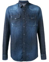 Dondup - Faded Shirt - Lyst