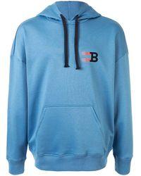 Bally スウェットパーカー - ブルー