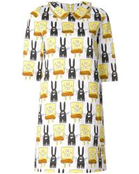 Peter Jensen - Spongebob Printed Dress - Lyst