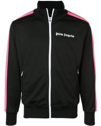 Palm Angels - Giacca sportiva con logo - Lyst