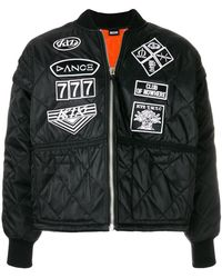 KTZ - Scout patches quilted bomber jacket - Lyst