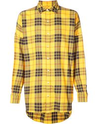 Mostly Heard Rarely Seen - Oversized Flannel Shirt - Lyst