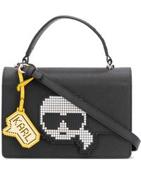 Karl Lagerfeld K/pixel Tote Bag - Black