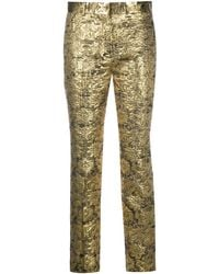 Mulberry Lucy Metallic-effect Trousers