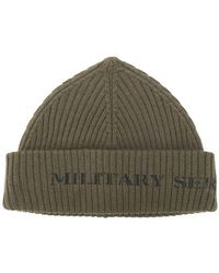 Neil Barrett - Ribbed Beanie Hat - Lyst