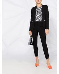 Karl Lagerfeld Пиджак С V-образным Вырезом - Черный
