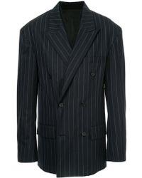 Juun.J - Oversized Striped Jacket - Lyst