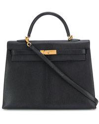 Hermès - 2002 プレオウンド ケリー セリエ 35 ハンドバッグ - Lyst