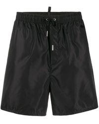 DSquared² Плавки-шорты С Логотипом - Черный
