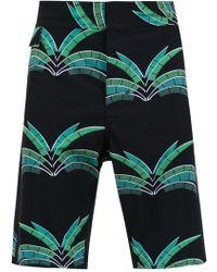 Amir Slama Printed Swim Shorts - Многоцветный