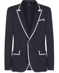 Dolce & Gabbana ボタン ジャケット - ブルー