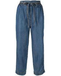 Karen Walker Studland Beach Trousers - Blue