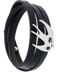 McQ - Enamelled Swallow Bracelet - Lyst