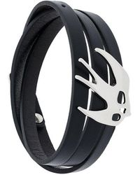 McQ - Enameled Swallow Bracelet - Lyst